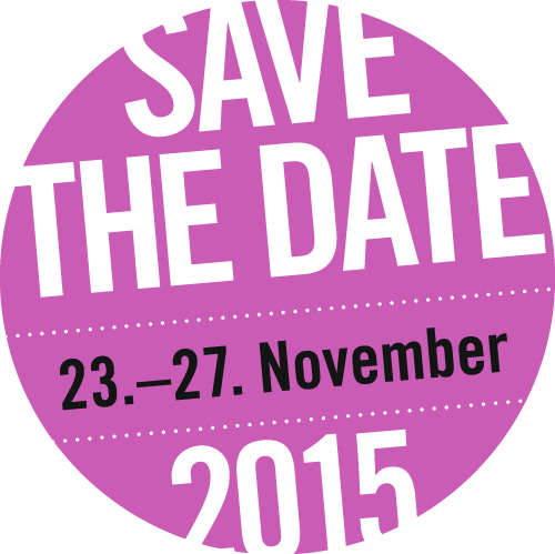 save the date: 23.-27. November 2015