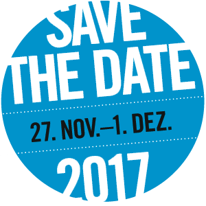 save the date: 27.Nov - 1. Dez 2017