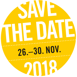 save the date: 26.Nov - 30. Nov 2018