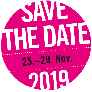 save the date: 25.Nov - 29. Nov 2019