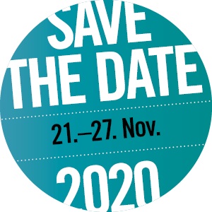 save the date: 23.Nov - 27. Nov 2020