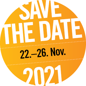 save the date: 20.Nov - 26. Nov 2021